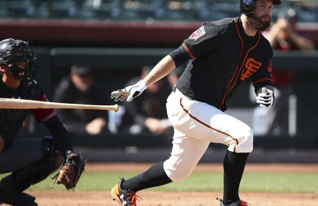 Brandon Belt sets MLB record, sees 21 pitches in AB before lining out