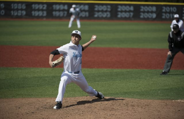 Alex Ross Wraps Up His Stellar D3 Pitching Career at Johns Hopkins
