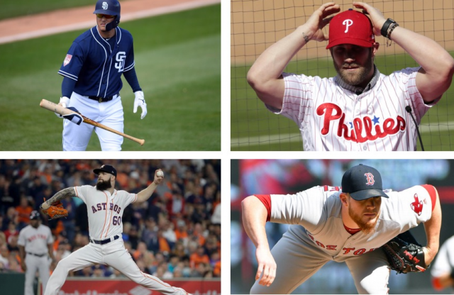 Weeks Away From Opening Day, Free Agent Pool Remains Large