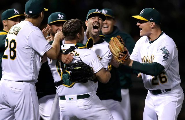 A's Mike Fiers Tosses Second Career No-Hitter