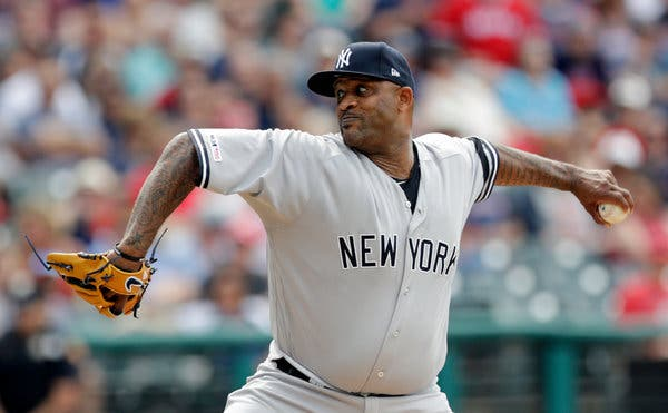 Sabathia Honored in Front of Yankee Faithful
