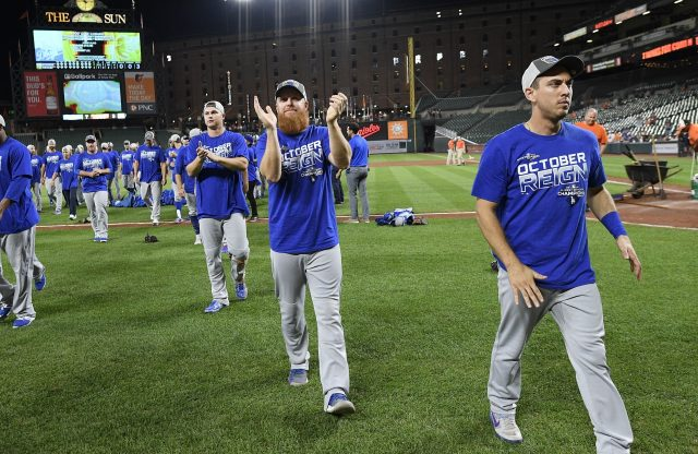Dodgers Become First to Clinch Playoff Berth